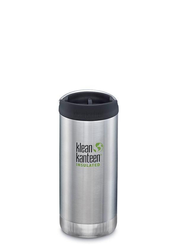 KleanKanteen TKWide-Thermos, 355 ml, brushed
