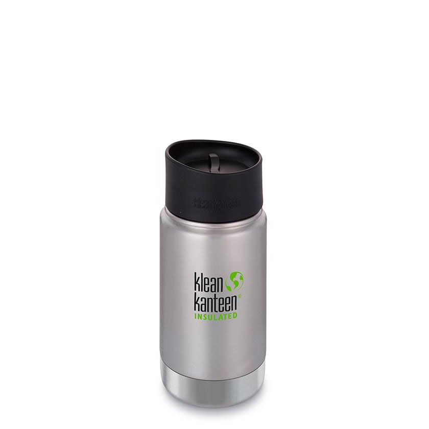 Klean Kanteen Weithals-Thermos 355 ml - brushed