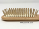 Hair brush wood/wood Picture No 4
